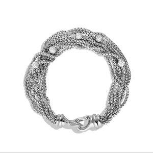 ⚜DAVID YURMAN Multi-Strand Diamond Bracelet⚜